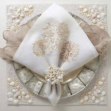 how to set a table with napkin rings 80 best wedding napkin napkin rings images on pinterest