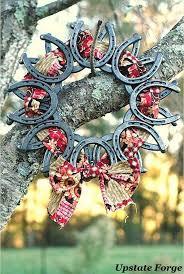 horseshoe wreath 30 styling horseshoe ideas for a rustic farm wedding deer pearl