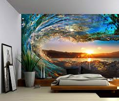 wall murals archives picture sensations seascape sunset sea ocean wave self adhesive vinyl wallpaper peel stick fabric wall decal