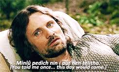 Aragorn Meme - 1k mine lord of the rings aragorn lotr mine gifs arwen lotredit