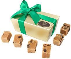 fudge gift boxes luxury fudge gift box 20 handmade rum flavoured fudge