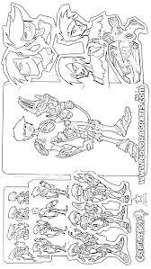 slugterra 20 dessins animés u2013 coloriages à imprimer