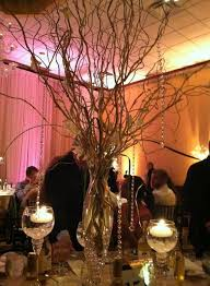 Curly Willow Centerpieces Reception Centerpieces