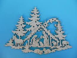 fensterbild heilige familie ca 33 cm christbaumschmuck