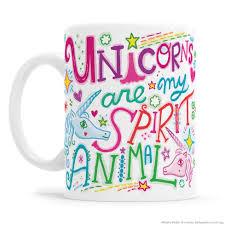 Animal Mug Unicorns Are My Spirit Animal Mug U2013 Kathy Weller Art Ideas Shop