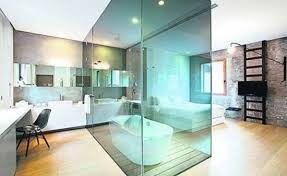 Glass Partition Wall Design Ideas And Room Dividers Separating - Bedrooms and bathrooms