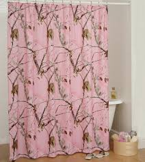 Bathroom Decor Shower Curtains Pink Camo Bathroom Decor Realtree Ap Pink Shower Curtain Camo Trading
