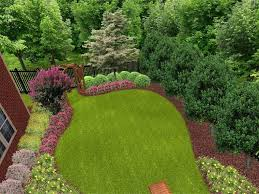 Landscaping Ideas For Backyard Privacy Landscape Ideas For Sloped Backyard Privacy Landscaping Ideas