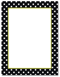 polka dot stationery see them all black white dots letterhead designer s