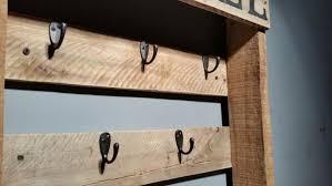 wooden coffee wall diy rustic pallet coffee mug holder 101 pallets