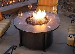 oriflamme fire table parts round gas fire pit table outdoor tables stonefire crystal chateau 48