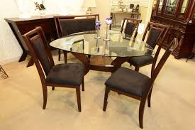 Dining Room Sets Las Vegas by Najarian Gallia Triangle Dining Table With 4 Chairs And Bench
