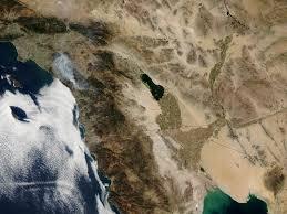 nasa visible earth algal bloom in the salton sea california