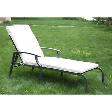 outsunny wooden outdoor chaise lounge patio pool recliner chair w