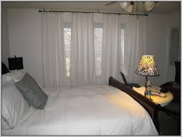 Hang Curtains From Ceiling Designs Alluring Hanging Curtain Rods From The Ceiling Ideas With Curtains