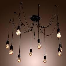 Industrial Chandelier Lighting Collection In Diy Industrial Chandelier Home Decorating