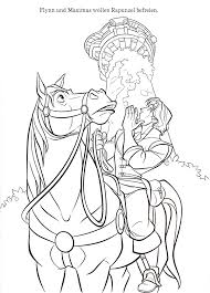beautiful rapunzel coloring sheet tangled coloring pages
