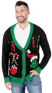 grinch christmas sweater junk food the grinch christmas cardigan sweater