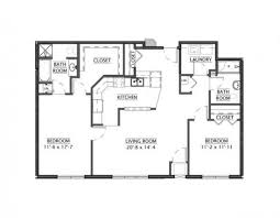 apartment floor plans with dimensions independent senior living communities floor plans twin rivers