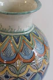 Mexican Pottery Vases Capelo Mexican Handmade Ceramics Zinnia Folk Arts