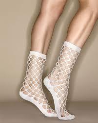 fishnet socks erica m