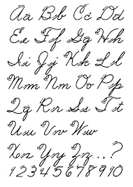 6 best images of fancy cursive alphabet chart how to write fancy