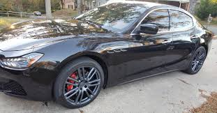 maserati ghibli blacked out mydippedwhips 2016 maserati ghibli