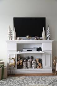 Make A Fireplace Mantel by How To Build A Simple Mantel Fireplace Shelves Diy Mantel And