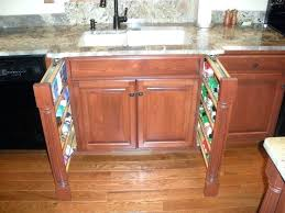 kitchen cabinet spice racks slide out spice racks for kitchen cabinets kitchen cabinet spice