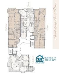 Condominium Plans Floor Plans Marbella In Daytona Beach Shores Florida