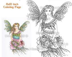 Cardinals Fairy Tangles Printable Coloring Book Pages