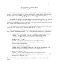 Literature Essays Examples Thematic Essay Examples Trueky Com Essay Free And Printable