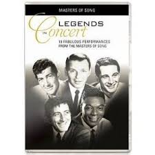 legends in concert dvd by natking cole perry como bobby darin