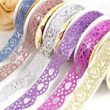 decorative ribbon aliexpress buy creative diy photo album accessories notebook