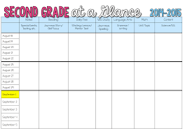 weekly lesson planner template sharing my long range plans sunny days in second grade sharing my long range plans