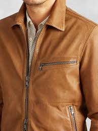 leather motorcycle clothing john varvatos leather motorcycle jacket in brown for men lyst