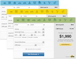 Household Goods Move Estimate by Shipping Calculator Get Instant Estimates For Items