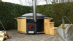 Wood Fired Bathtub Siberian Larch Tub Siberian Larch Tubs