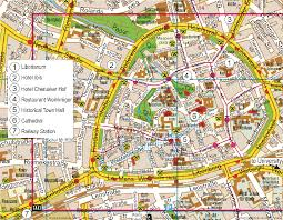 Stuttgart Germany Map by Paderborn Map