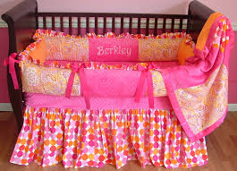 Orange Crib Bedding Sets Fleurish Baby Bedding Only 1 Left 1315 375 00 Modpeapod