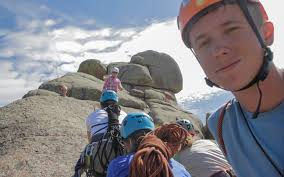 Wyoming travel management company images Wyoming rock climbing outward bound jpg