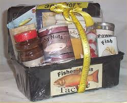 Mens Gift Baskets Tackle Box Men Gift Basket Fun Fishing Gift Basket Men Lure Coffee
