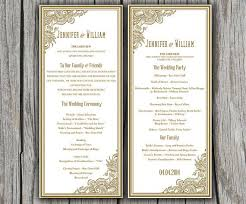 tea length wedding programs 32 best wedding invitations images on pockets pocket