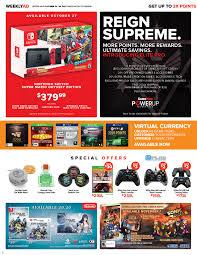 gamestop black friday 2016 weekly ad gamestop