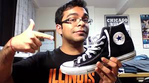 converse chuck taylor all stars hi top review youtube