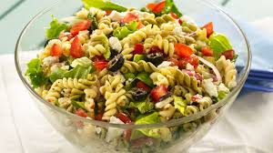 salad pasta greek tossed pasta salad recipe bettycrocker com