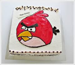 birthday cake angry bird and batman anncoo journal