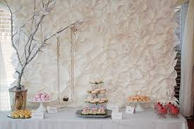 backdrop ideas paper flower backdrop ideas follow my party