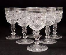 Antique Glassware Identification Early Cut Glass Marks American Brilliant Cut Glass Ebay
