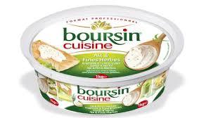 boursin cuisine boursin cuisine ail et fines herbes 19 mg 1 kg bel grossiste